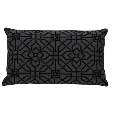 Port Palace Indoor/Outdoor Lumbar Pillow (Set of 2) Color: Midnight