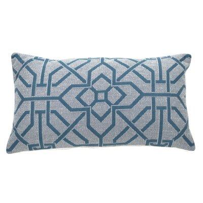 Port Palace Indoor/Outdoor Lumbar Pillow (Set of 2) Color: Peacock