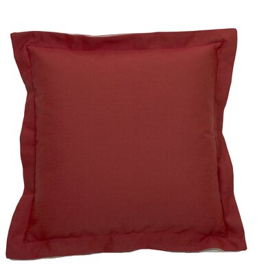 Linen Indoor/Outdoor Throw Pillow (Set of 2) Color: Premier Cajun, Size: 17 x 17