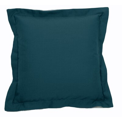 Linen Indoor/Outdoor Throw Pillow (Set of 2) Color: Premier Reef, Size: 22 x 22