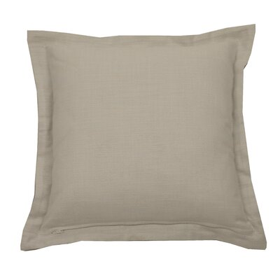 Verona Indoor/Outdoor Throw Pillow (Set of 2) Color: Almond, Size: 22 x 22