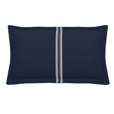 Vintage Indoor/Outdoor Lumbar Pillow (Set of 2) Color: Navy