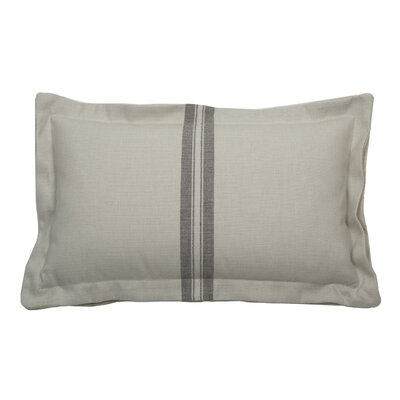 Vintage Indoor/Outdoor Lumbar Pillow (Set of 2) Color: Pewter