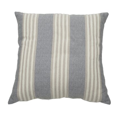 Bradford Indoor/Outdoor Throw Pillow (Set of 2) Color: Stone, Size: 22 x 22