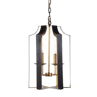 4-Light Lantern Pendant