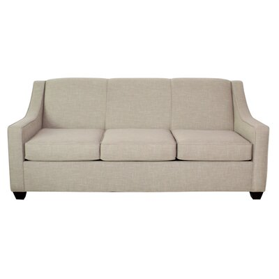 Phillips Queen Sofa Finish: Montana Maple, Upholstery: Intersect Smoke