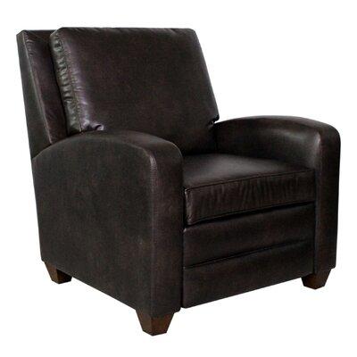 Cherilyn Manual Recliner Upholstery: Gunslinger Coffee