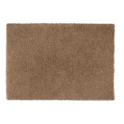 Loft Brown Area Rug Rug Size: Round 5'3