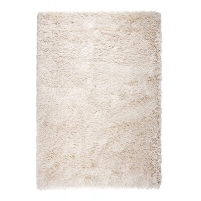 Silk Beige Area Rug Rug Size: 710 x 1010