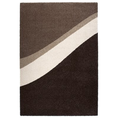 Granite Gray/Black Area Rug Rug Size: 67 x 96