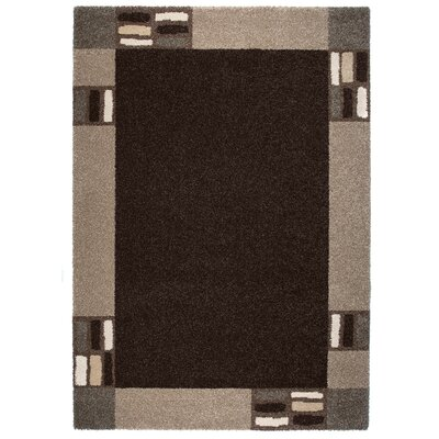 Granite Black/Gray Area Rug Rug Size: 67 x 96