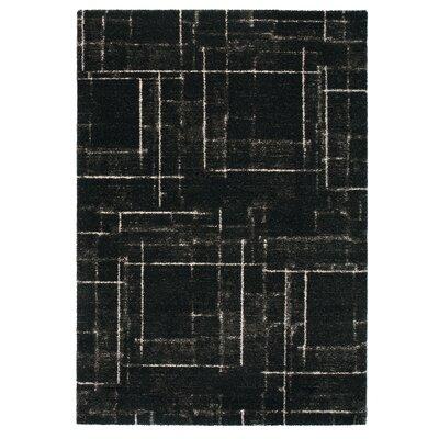 Market Black Area Rug Rug Size: 710 x 112