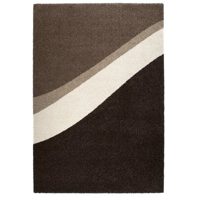 Granite Gray/Black Area Rug Rug Size: 53 x 77