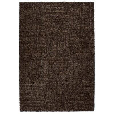 Granite Black Area Rug Rug Size: 67 x 96