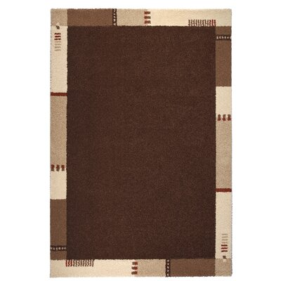 Empire Brown/Beige Area Rug Rug Size: 53 x 77