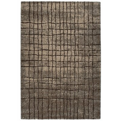 Granite Brown Area Rug Rug Size: 53 x 77