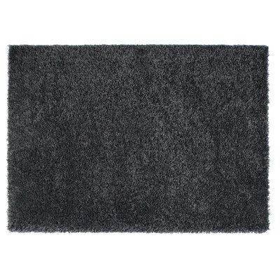 Loft Black Area Rug Rug Size: Square 67