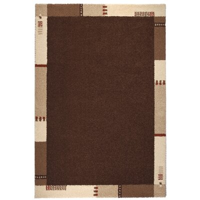Empire Brown/Beige Area Rug Rug Size: 67 x 96