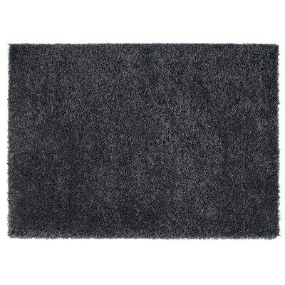 Loft Black Area Rug Rug Size: 710 x 112