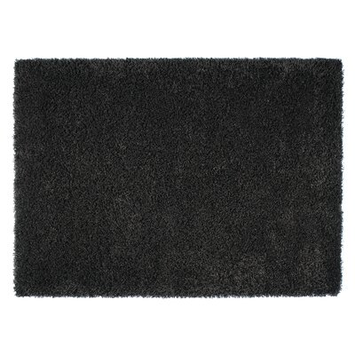 Loft Black Area Rug Rug Size: Rectangle 710 x 112