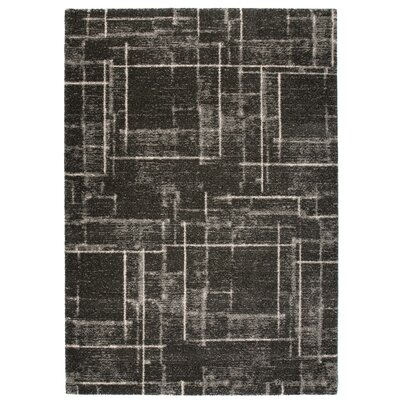 Market Gray Area Rug Rug Size: 67 x 96