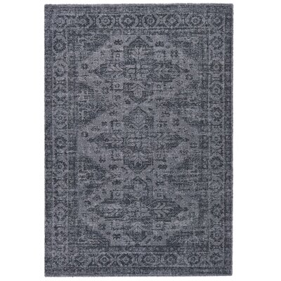 Downtown Gray Area Rug Rug Size: 67 x 96