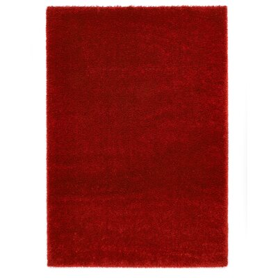 Ocean Red Area Rug Rug Size: 53 x 77