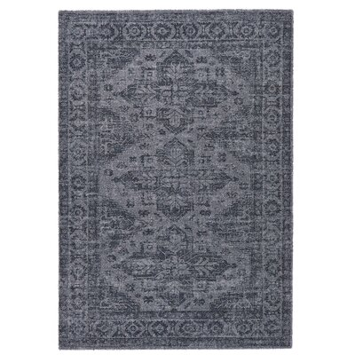 Downtown Gray Area Rug Rug Size: 710 x 112