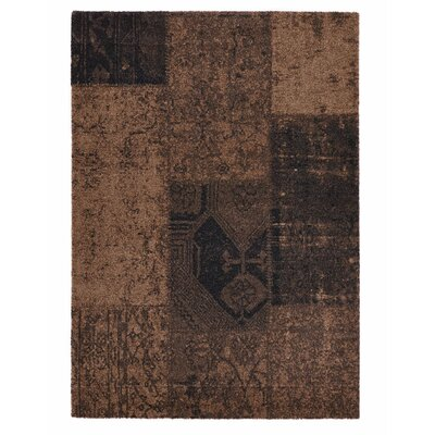Downtown Brown Area Rug Rug Size: 67 x 96