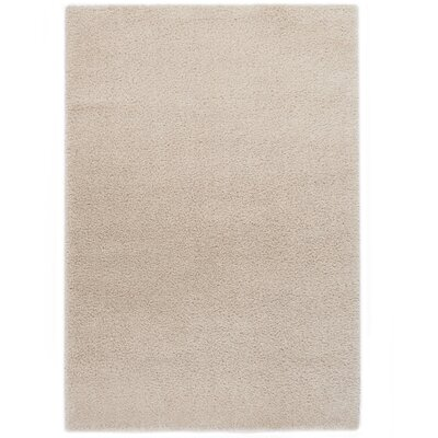 Ocean White Area Rug Rug Size: 53 x 77
