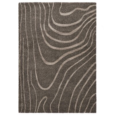 Country Gray Area Rug Rug Size: 710 x 112