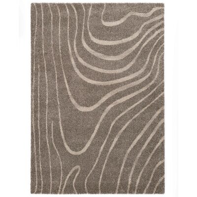 Country Beige/Gray Area Rug Rug Size: 710 x 112