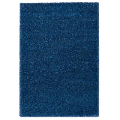 Ocean Blue Area Rug Rug Size: 53 x 77