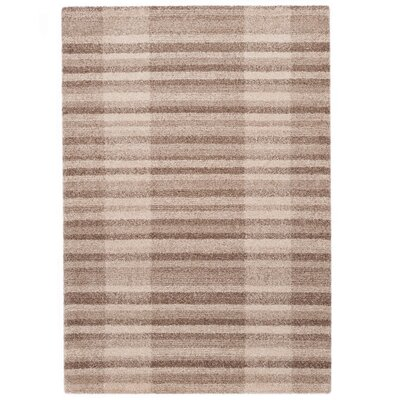 Country Beige Area Rug Rug Size: 710 x 112