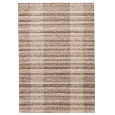 Country Beige Area Rug Rug Size: 67 x 96