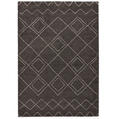Country Brown Area Rug Rug Size: 7'10