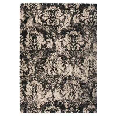 Market Black/Beige Area Rug Rug Size: 710 x 112