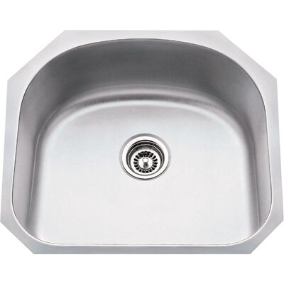 23.25 x 20.88 Single 18 Gauge Stainless Steel Undermount Utility Sink