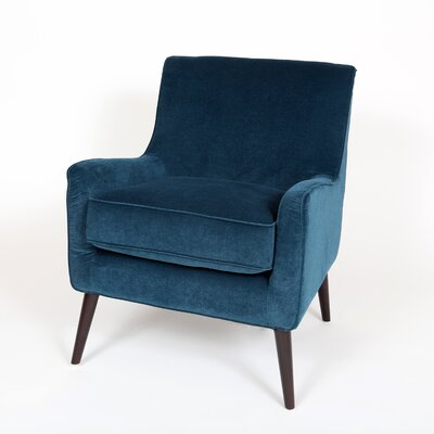 Kristina Armchair Finish: Ocean Blue
