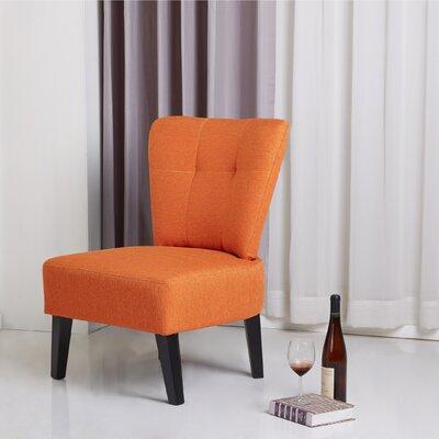 Maddie Slipper Chair Finish: Orange