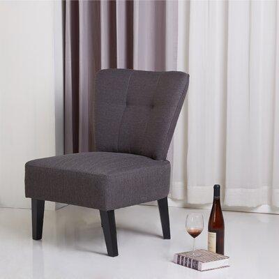 Maddie Slipper Chair Finish: Grey