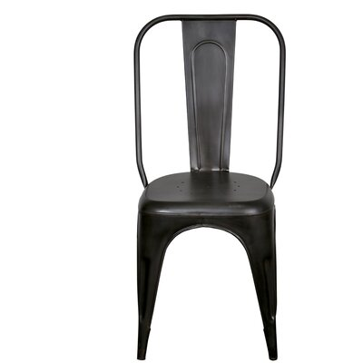 Heffron Side Chair Finish: Gunmetal Grey