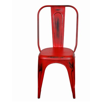 Heffron Side Chair Finish: Distressed Red