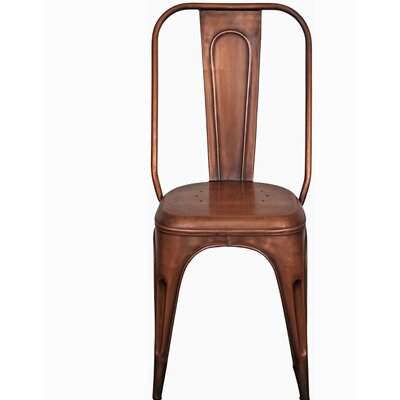 Heffron Side Chair Finish: Copper