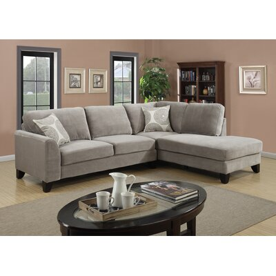 Malibu Sectional Upholstery: Dove Gray