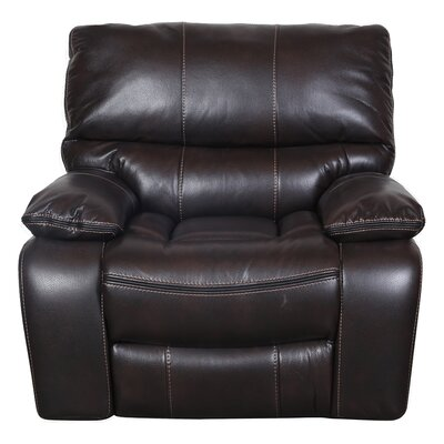 Alameda Recliner Upholstery: Chocolate Brown