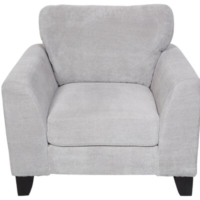 Curtis Armchair Upholstery: Light Gray