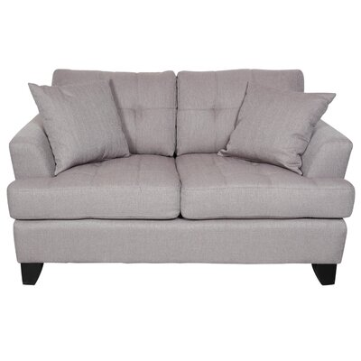 Norwich Loveseat Upholstery: Putty Taupe