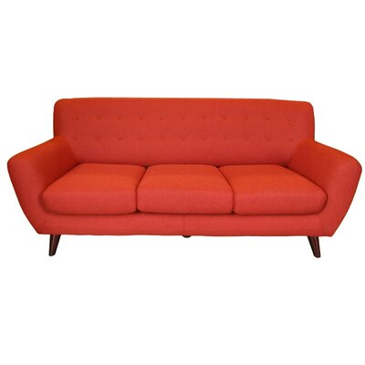 Conor Sofa Upholstery: Pumpkin Orange
