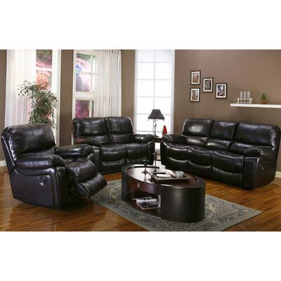Three Posts TRPT1196 Gracehill Modern Leather Living Room Collection